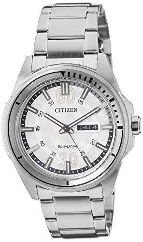 Citizen Analog White Dial Mens Watch AW0030 55A 0 - Citizen AW0030-55A watch