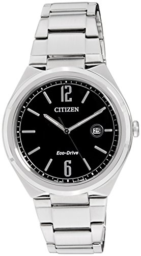 Citizen Eco Drive Analog Black Dial Mens Watch AW1370 51E 0 - Citizen AW1370-51E Eco-Drive watch