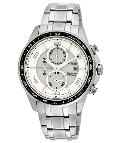 Citizen Eco Drive Analog White Dial Mens Watch CA0341 52A 23 cm 0 - Citizen CA0341-52A-23cm Eco-Drive watch