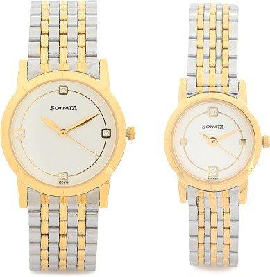 Sonata Analog Multi Colour Dial Mens Watch 71178137BM01 0 - Sonata 71178137BM01 Analog Multi-Colour watch