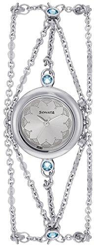 Sonata Analog Silver Dial Womens Watch 8130SM01 0 - Sonata 8130SM01 watch