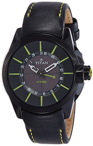 Titan HTSE 3 Analog Black Dial mens Watch 1629NL01 0 - Titan 1629NL01 HTSE 3 Analog watch