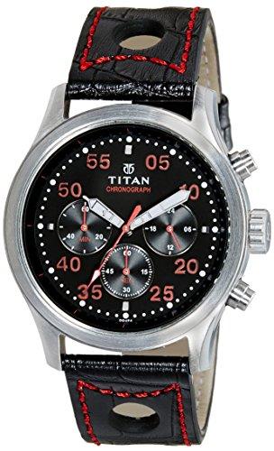 Titan Octane Analog Black Dial Mens Watch 1634SL05 0 - Titan 1634SL05 Octane watch