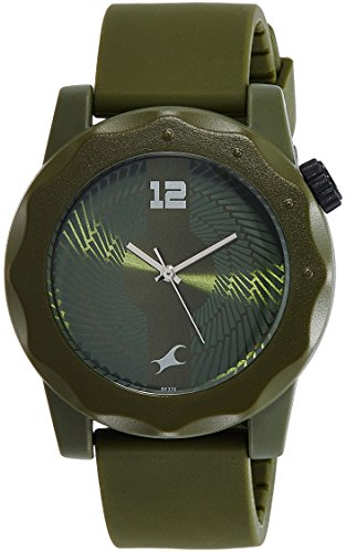 Fastrack Analog Green Dial Unisex Watch NG38022PP01CJ 0 - Fastrack NG38022PP01CJ watch