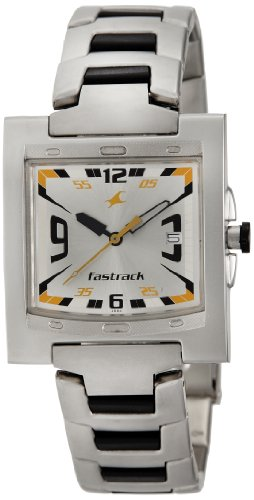Fastrack Core Analog Silver Dial Mens Watch NE1229SM04 0 - Fastrack NE1229SM04 Mens  watch