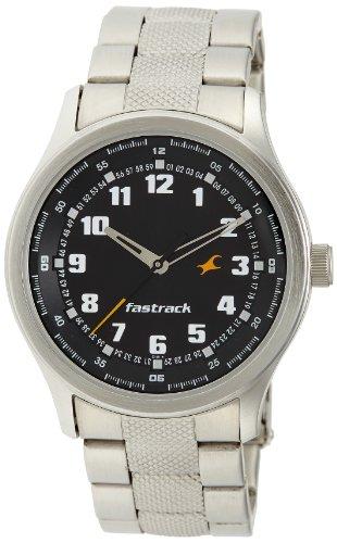Fastrack Essentials Analog Black Dial Mens Watch NE3001SM01 0 - Fastrack NE3001SM01 Mens watch