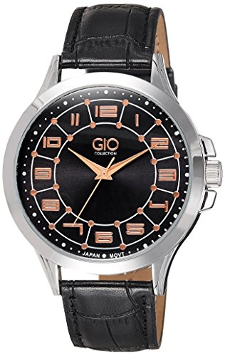 Gio Collection Analog Black Dial Mens Watch Gio EP 05164P9347 0 - Gio EP - 0516.4P9347 Mens watch