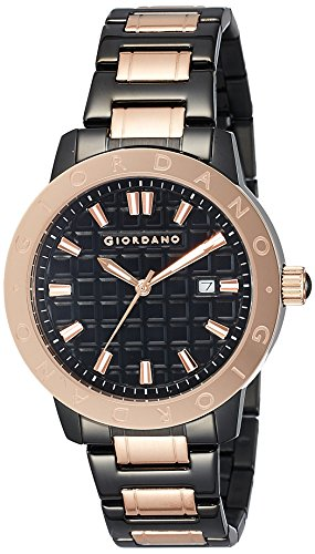 Giordano Analog Black Dial Mens Watch 1706 33 0 - Giordano 1706-33 Mens watch