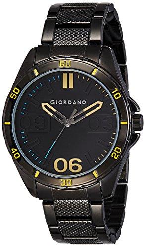 Giordano Analog Black Dial Mens Watch A1050 33 0 - Giordano A1050-33 Mens watch