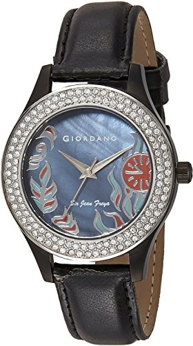 Giordano Analog Black Dial Womens Watch 2591 04 0 - Giordano 2591-04 WoMens watch