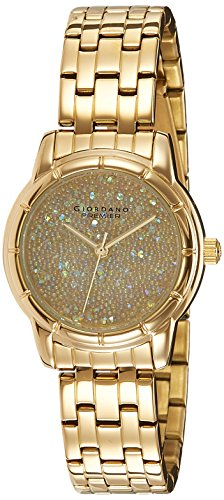 Giordano Analog Gold Dial Womens Watch P2033 22 0 - Giordano P2033-22 WoMens watch