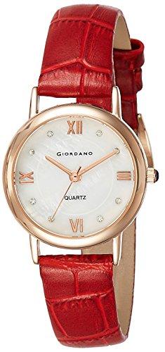 Giordano Analog White Dial Womens Watch 2807 02 0 - Giordano 2807-02 WoMens watch