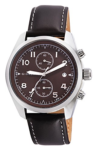 Giordano Chronograph Brown Dial Mens Watch 1683 02 0 - Giordano 1683-02 Mens watch