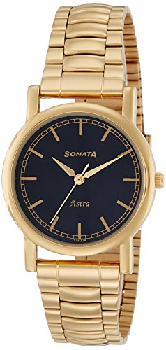 Sonata Analog Black Dial Mens Watch 77049YM02CJ 0 - Sonata 77049YM02CJ Black Dial Men watch