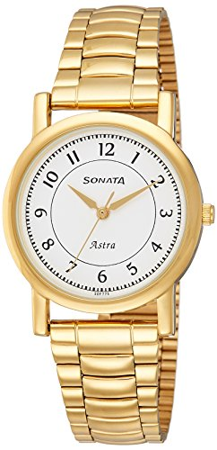 Sonata Analog White Dial Mens Watch 77049YM03CJ 0 - Sonata 77049YM03CJ Mens watch