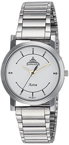 Sonata Analog White Dial Mens Watch 77056SM01J 0 - Sonata 77056SM01J Mens watch