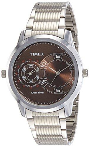 Timex Analog Brown Dial Mens Watch TWEG15004 0 - Timex TWEG15004 Mens watch