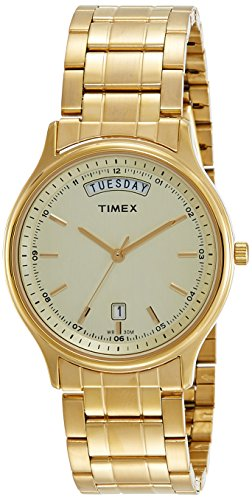 Timex Analog Gold Dial Mens Watch TW0TG5908 0 - Timex TW0TG5908 Mens watch