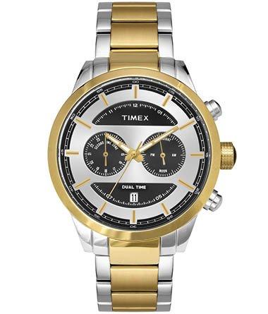 Timex Analog Silver Dial Mens Watch TW000Y410 0 - Timex TW000Y410 Mens watch