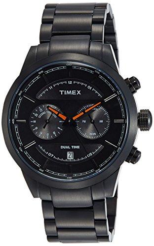 Timex Chronograph Black Dial Mens Watch TW000Y409 0 - Timex TW000Y409 Mens watch