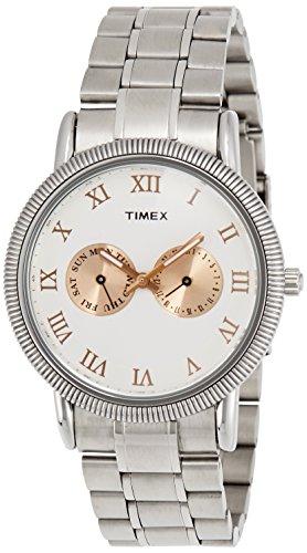 Timex E Class Analog Off White Dial Mens Watch TI000J20700 0 - Timex TI000J20700 Mens watch
