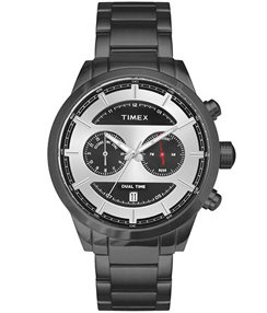 Timex E Class Black Silver Dial Color Men Watches TW000Y412 0 - Timex TW000Y412 watch
