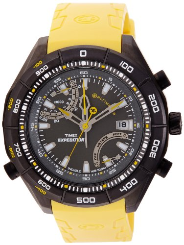 Timex Expedition Altimeter Analog Black Dial Mens Watch T49796 0 - Timex T49796 Mens watch