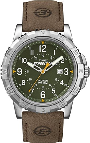 Timex Expedition Analog Green Dial Mens Watch T49989 0 - Timex T49989 Mens  watch