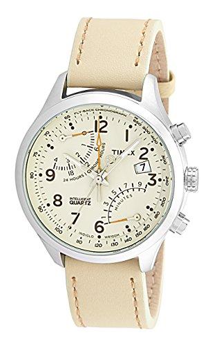 Timex Intelligent Quartz Analog Beige Dial Mens Watch T2P382 0 - Timex T2P382 Mens watch