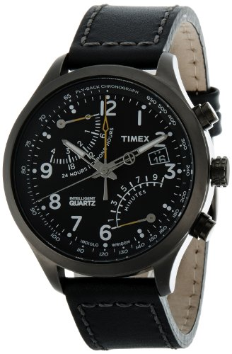 Timex Intelligent Quartz Chronograph Black Dial Mens Watch T2N699 0 - Timex T2N699 Mens watch