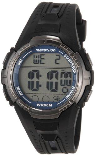 Timex Marathon Digital Grey Dial Mens Watch T5K359 0 - Timex T5K359 Mens  watch