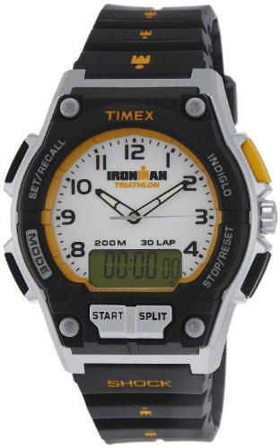 Timex Sports Analog Digital White Dial Unisex Watch T5K200 0 - Timex T5K200 watch