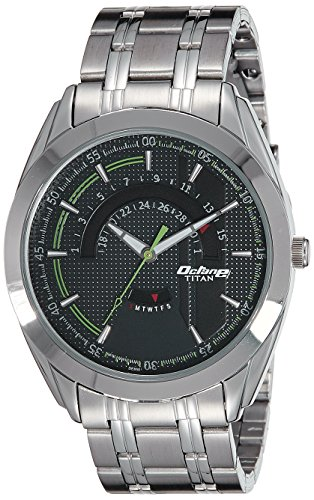Titan Analog Black Dial Mens Watch 1582SM02 0 - Titan 1582SM02 Mens   watch