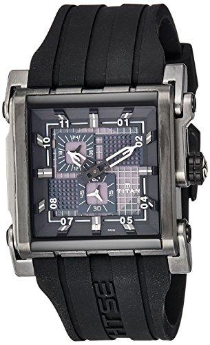Titan Analog Black Dial Mens Watch 1635KP04 0 - Titan 1635KP04 Mens watch