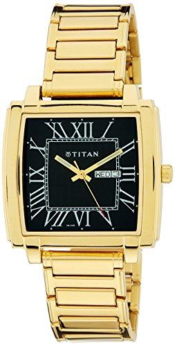 Titan Analog Gold Dial Mens Watch 1586YM02 0 - Titan 1586YM02 Mens  watch