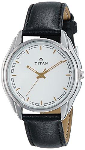 Titan Analog White Dial Mens Watch 1578SL06 0 - Titan 1578SL06 Men watch