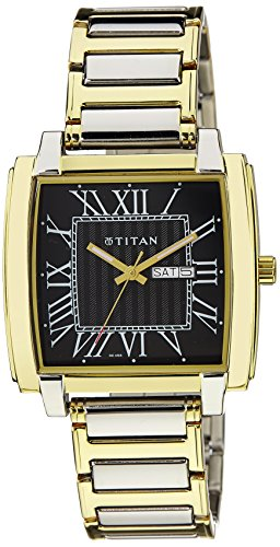 Titan Multi Colored Dial Analog Mens Watch 1586BM02 0 - Titan 1586BM02 Mens   watch