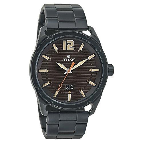 Titan Purple Steel Analog Brown Dial Mens Watch 1699NM01 0 - Titan 1699NM01 Purple Mens watch