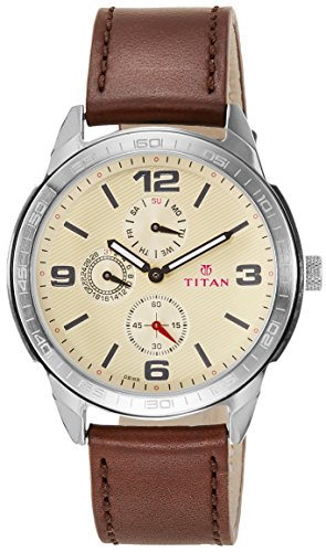 Titan Purple Upgrades Analog Off White Dial Mens Watch 1585SL05 0 - Titan 1585SL05 Purple Mens watch