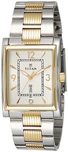 Titan Slimline Analog Silver Dial Mens Watch 90024BM03 0 - Titan 90024BM03 Slimline Mens watch