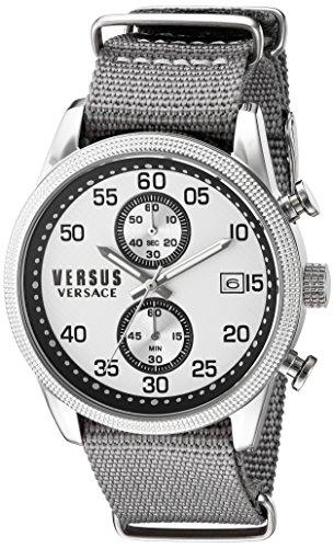 Versus Versace Chronograph Silver Dial Mens Watch S66070016 0 - Versus Versace S66070016 Mens watch