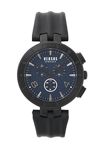 Versus Versace Gent Chrono Analog Blue Dial Mens Watch S76120017 0 - Versus Versace S76120017 Mens watch