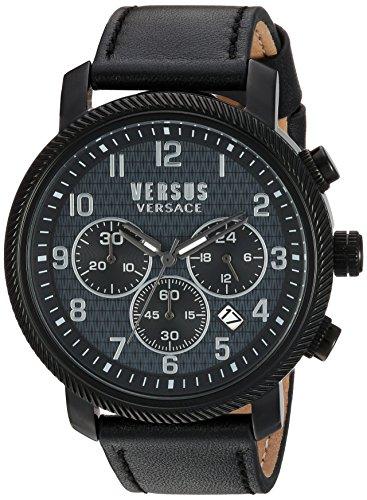 Versus Versace Hoxton Square Analog Black Dial Mens Watch S70010016 0 - Versus Versace S70010016 Mens watch