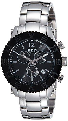 Versus by Versace Analog Black Dial Mens Watch SOH02 0015 0 - Versus SOH02 0015 Mens watch