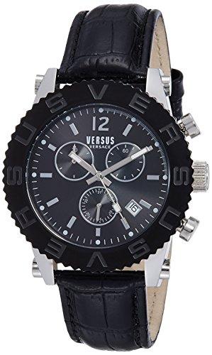 Versus by Versace Analog Black Dial Mens Watch SOH07 0015 0 - Versus SOH07 0015 Mens watch