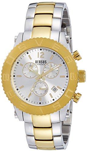 Versus by Versace Analog Silver Dial Mens Watch SOH01 0015 0 - Versus SOH01 0015 Mens watch
