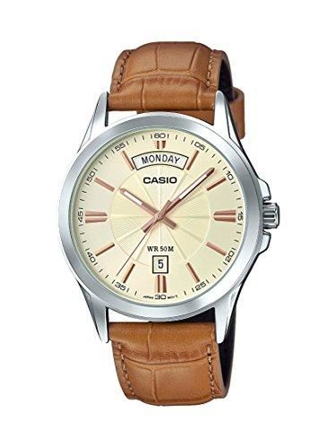 Casio Enticer Analog Gold Dial Mens Watch MTP 1381L 9AVDF A1133 0 - Casio MTP-1381L-9AVDF (A1133) Enticer Analog Gold Dial Men's watch