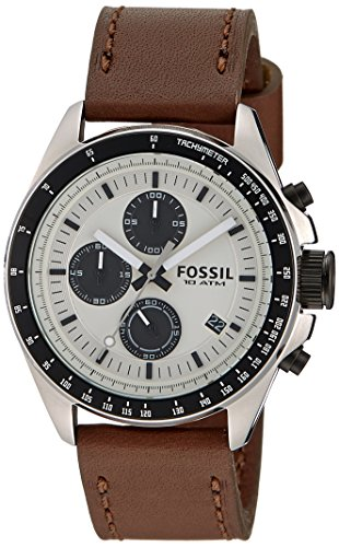 Fossil Chronograph Silver Dial Mens Watch CH2882 0 - Fossil CH2882 Chronograph Silver Dial Men's watch