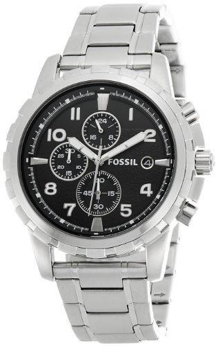 Fossil Dean Chronograph Analog Black Dial Mens Watch FS4542 0 - Fossil FS4542 Dean Chronograph Analog Black Dial Men's watch
