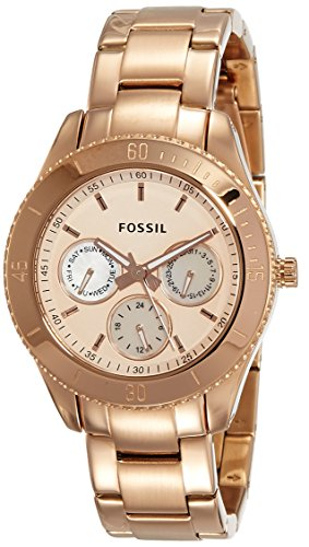 Fossil Designer Analog Gold Dial Womens Watch ES2859 0 - Fossil ES2859 Designer Analog Gold Dial Women watch